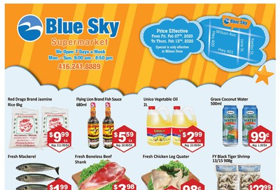 Blue Sky Supermarket (North York) Flyer February 7 to 13
