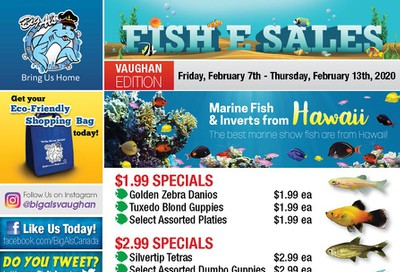 Big Al's (Vaughan) Weekly Specials February 7 to 13