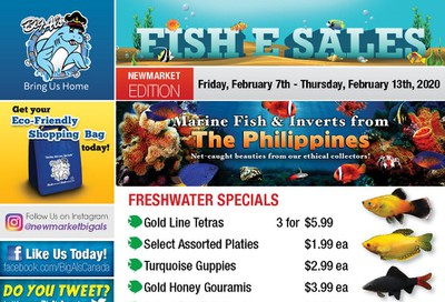 Big Al's (Newmarket) Weekly Specials February 7 to 13