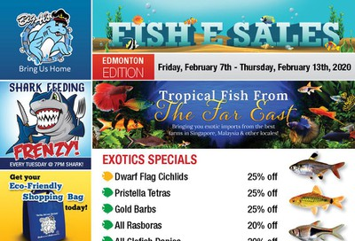 Big Al's (Edmonton) Weekly Specials February 7 to 13