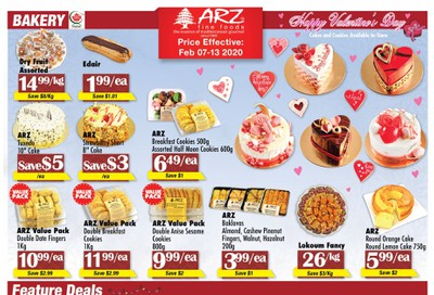 Arz Fine Foods Flyer February 7 to 13