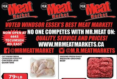 M.R. Meat Market Flyer February 20 to 27