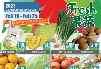 99 Ranch Market (CA) Weekly Ad Flyer February 19 to February 25