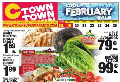 C-Town Weekly Ad Flyer February 19 to February 25
