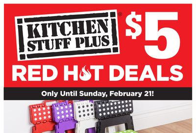 Kitchen Stuff Plus Red Hot Deals Flyer February 22 to 28