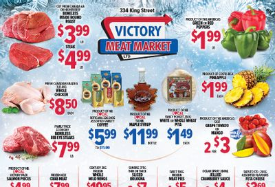Victory Meat Market Flyer February 23 to 27