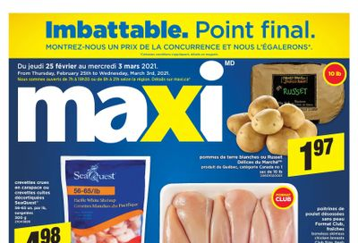 Maxi & Cie Flyer February 25 to March 3