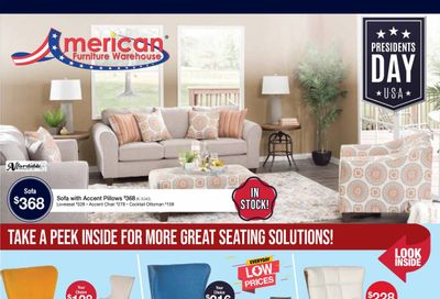 American Furniture Warehouse Weekly Ad Flyer February 21 to February 27