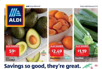 ALDI (IL, MI, OH) Weekly Ad Flyer February 21 to February 27