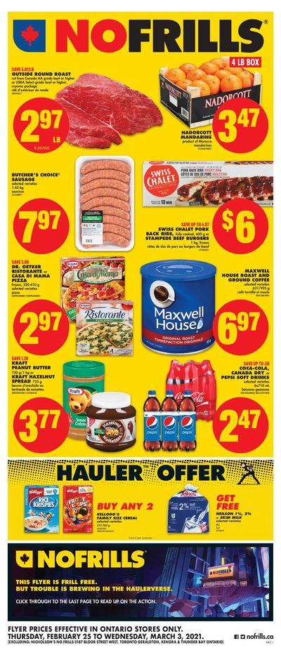 No Frills (ON) Flyer February 25 to March 3