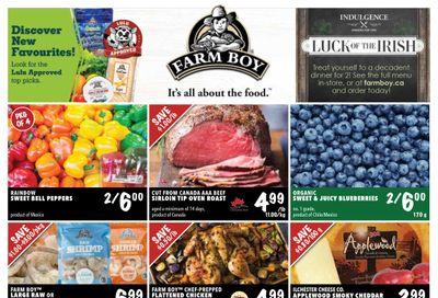 Farm Boy Flyer February 25 to March 3