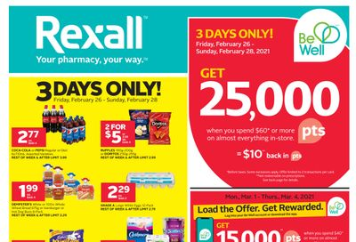Rexall (ON) Flyer February 26 to March 4