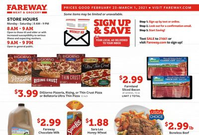 Fareway (IA, IL, MN, MO, NE, SD) Weekly Ad Flyer February 23 to March 1
