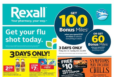 Rexall (West) Flyer October 11 to 17