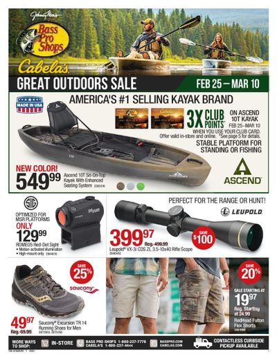 Bass Pro Shops Weekly Ad Flyer February 25 to March 10