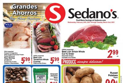 Sedano's (FL) Weekly Ad Flyer February 24 to March 2