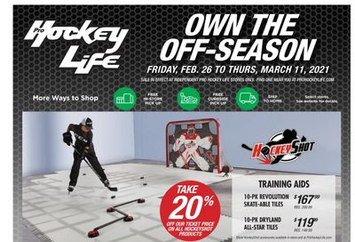 Pro Hockey Flyer February 26 to March 11