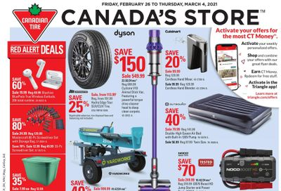 Canadian Tire (ON) Flyer February 26 to March 4