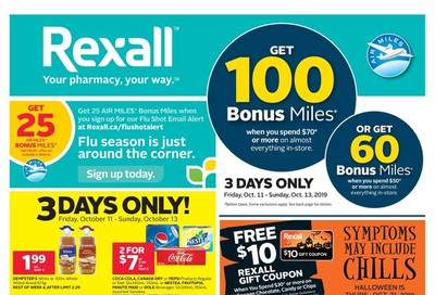 Rexall (ON) Flyer October 11 to 17