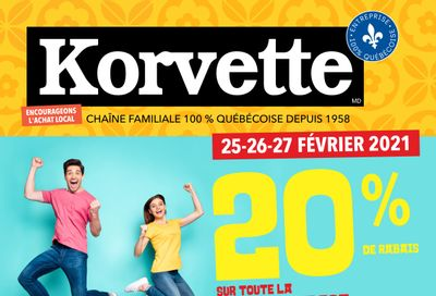 Korvette Flyer February 25 to 27