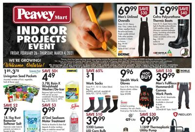 Peavey Mart Flyer February 26 to March 4
