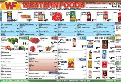 Western Foods Flyer February 24 to March 2