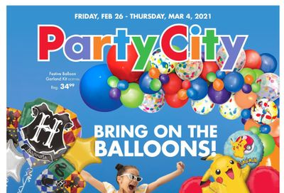 Party City Flyer February 26 to March 4