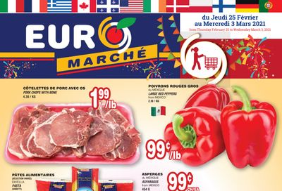 Euro Marche Flyer February 25 to March 3