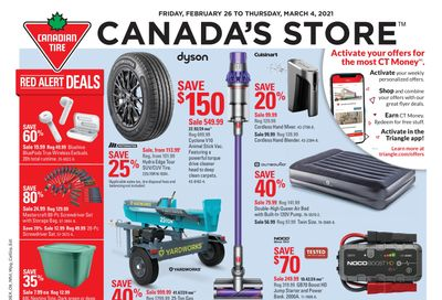 Canadian Tire (West) Flyer February 26 to March 4