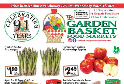 The Garden Basket Flyer February 25 to March 3