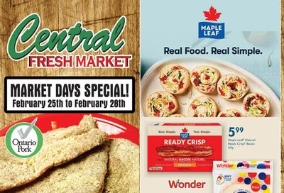 Central Fresh Market Flyer February 25 to March 4