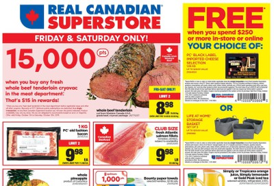 Real Canadian Superstore (West) Flyer October 11 to 17