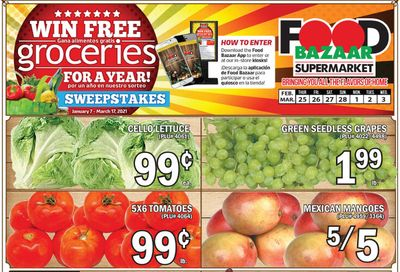 Food Bazaar Supermarket Weekly Ad Flyer February 25 to March 3, 2021