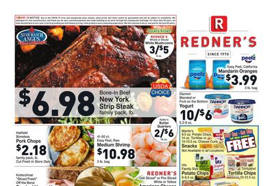 Redner's Markets Weekly Ad Flyer February 25 to March 3, 2021