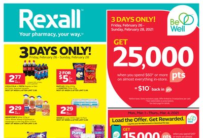 Rexall (West) Flyer February 26 to March 4