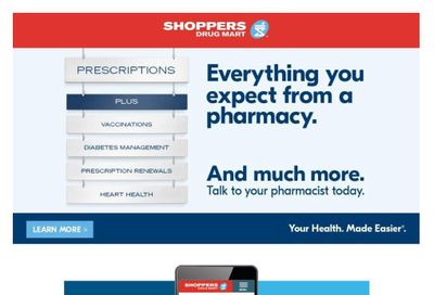 Shoppers Drug Mart (West) Flyer February 27 to March 4