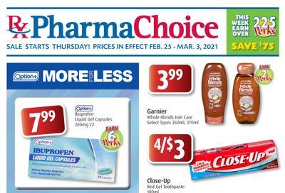 PharmaChoice (BC, AB, SK & MB) Flyer February 25 to March 3