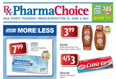 PharmaChoice (ON & Atlantic) Flyer February 25 to March 3