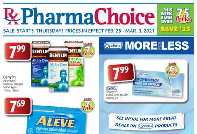 PharmaChoice Health Center Flyer February 25 to March 3