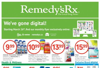 Remedy's RX Flyer February 26 to March 25