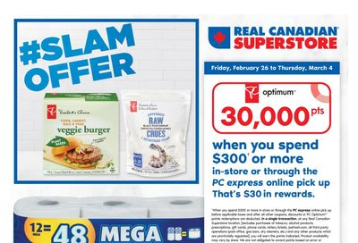Real Canadian Superstore (West) Flyer February 26 to March 4
