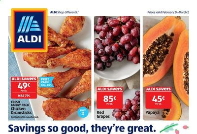 ALDI (CA) Weekly Ad Flyer February 24 to March 2