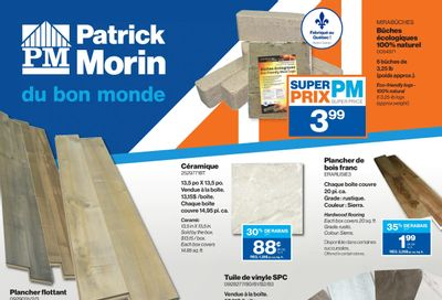 Patrick Morin Flyer February 25 to March 3