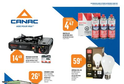 Canac Flyer February 25 to March 3
