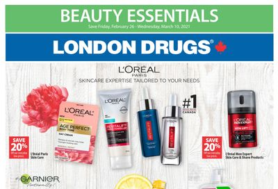 London Drugs Beauty Essentials Flyer February 26 to March 10