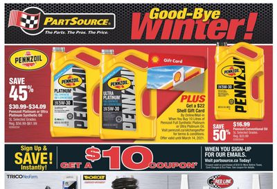 PartSource Flyer February 26 to March 11