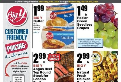 Big Y (CT) Weekly Ad Flyer February 25 to March 3