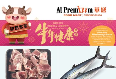 Al Premium Food Mart (Mississauga) Flyer February 25 to March 3