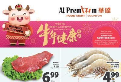 Al Premium Food Mart (Eglinton Ave.) Flyer February 25 to March 3