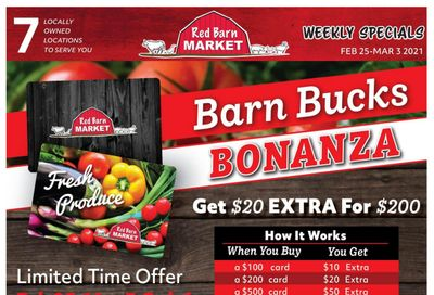 Red Barn Market Flyer February 25 to March 3